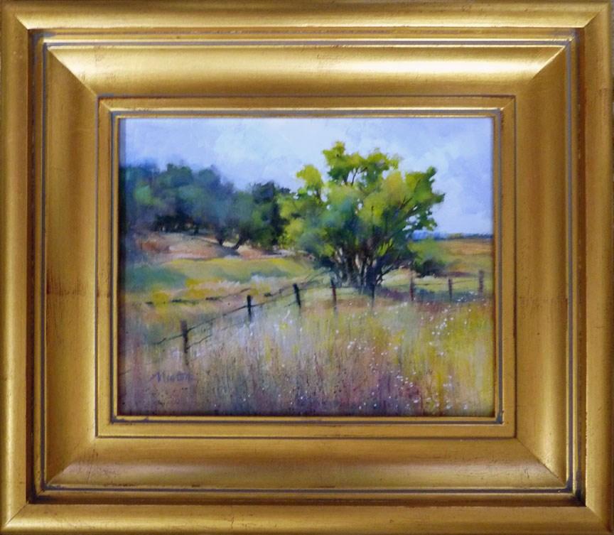 """""""Oil Study 9"""" original fine art by Barbara Benedetti Newton"""