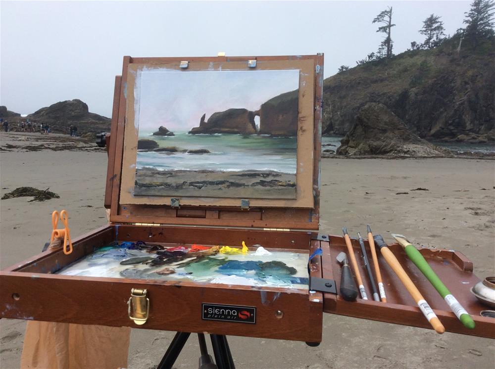 """Second Beach"" original fine art by Jenny Kinberg"