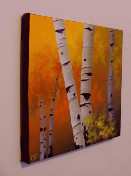 """All of Autumn's Gold"" original fine art by ~ces~ Christine E. S. Code"
