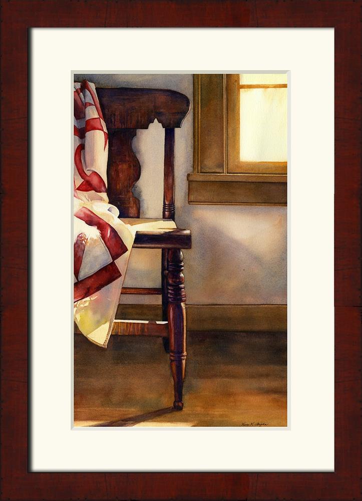 """Parlor Afternoon"" original fine art by Kara K. Bigda"