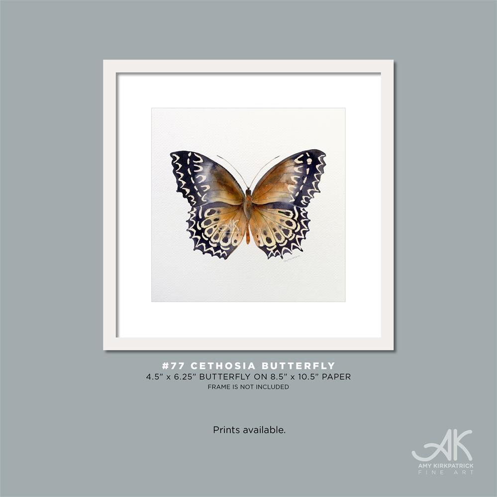 """""""#77 Cethosia Butterfly #0387"""" original fine art by Amy Kirkpatrick"""