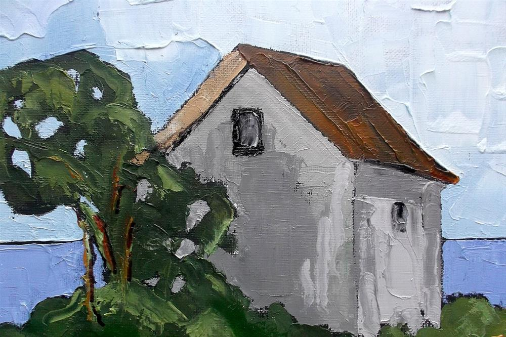 """North Pacific Cottage"" original fine art by lynne french"