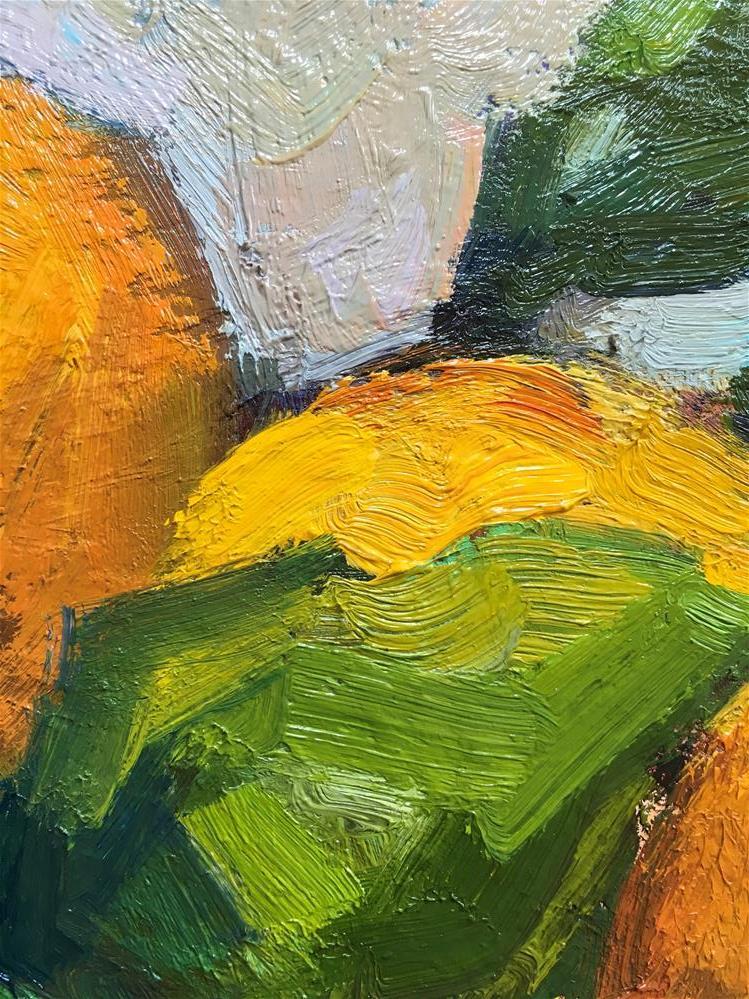 """Hana.Harvest#10"" original fine art by Katya Minkina"