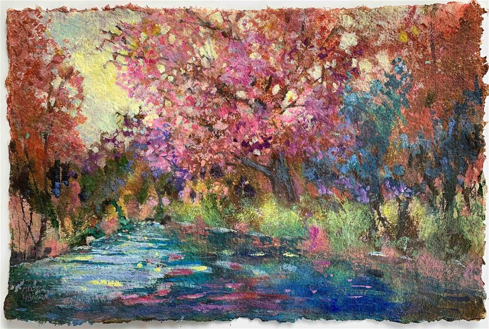 """Spring"" original fine art by Melissa Gannon"