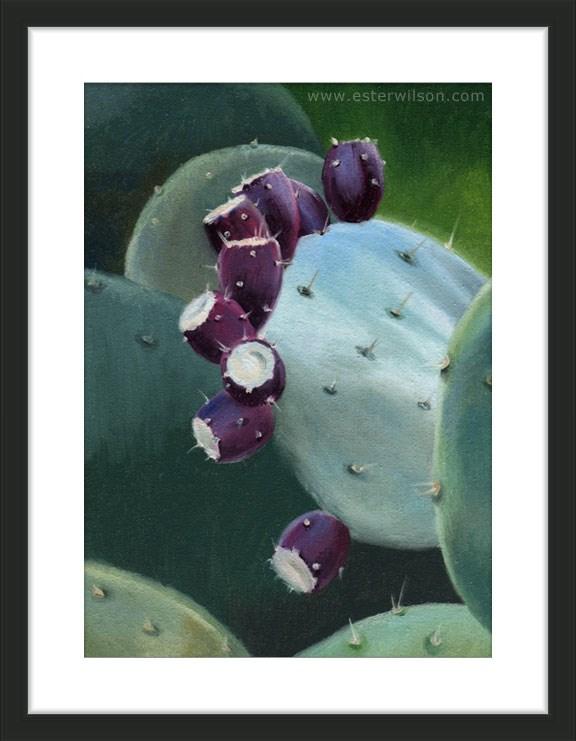 """Desert Color"" original fine art by Ester Wilson"