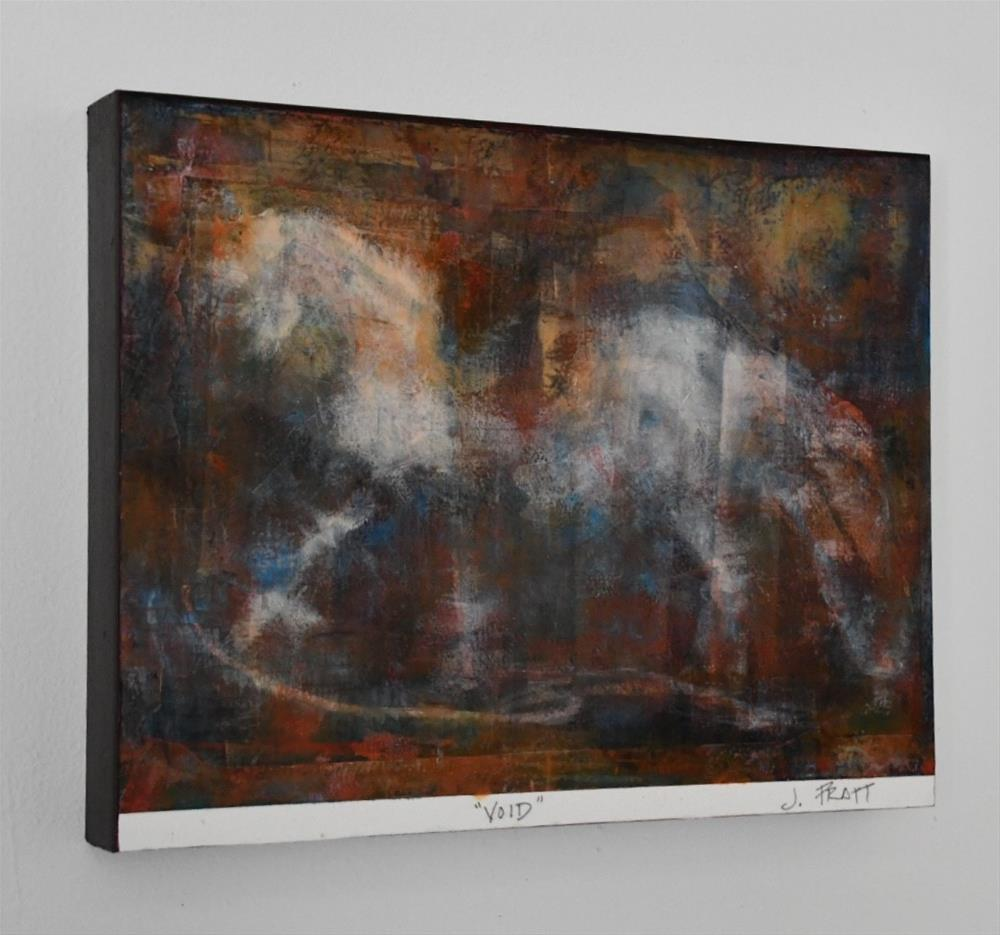 """Void"" original fine art by Jennifer Pratt"