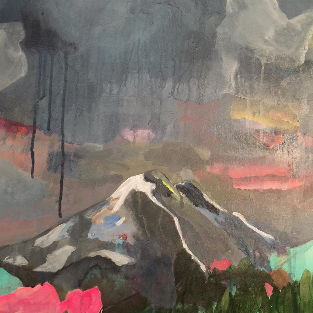 """""""184 I've Been to the Mountaintop"""" original fine art by Jenny Doh"""