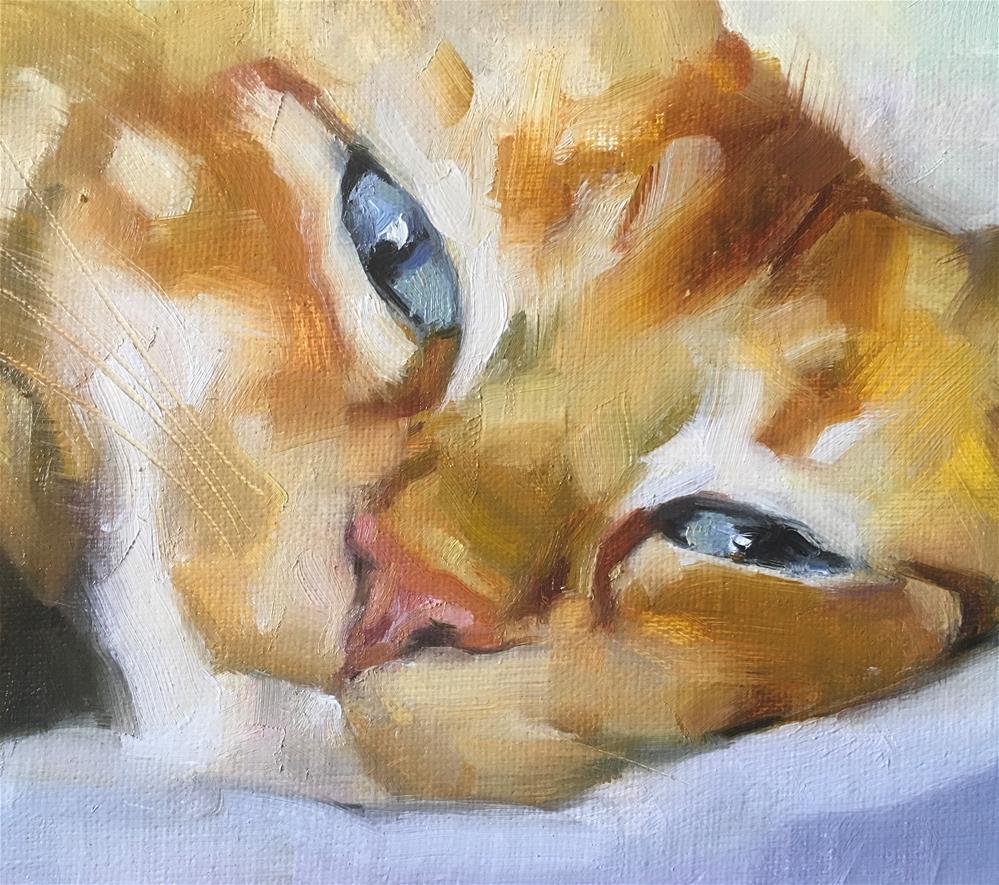 """Adopt369"" original fine art by Katya Minkina"