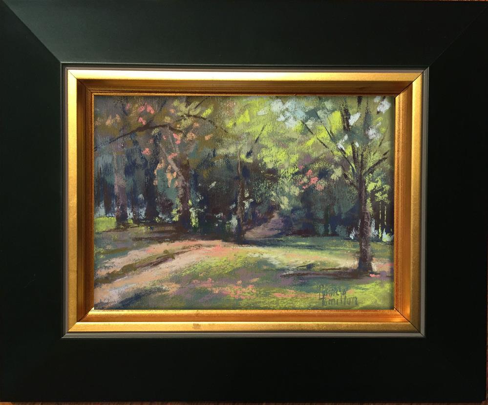 """Quiet Path"" original fine art by Pamela Hamilton"
