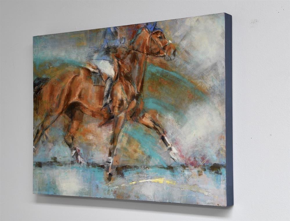 """""""Accelerate VII"""" original fine art by Jennifer Pratt"""
