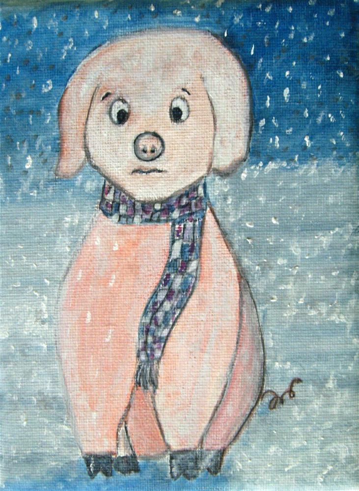 """""""Winter Is Coming"""" original fine art by Alina Frent"""