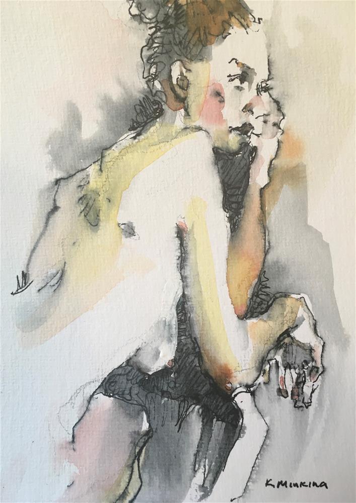 """Figuary35"" original fine art by Katya Minkina"