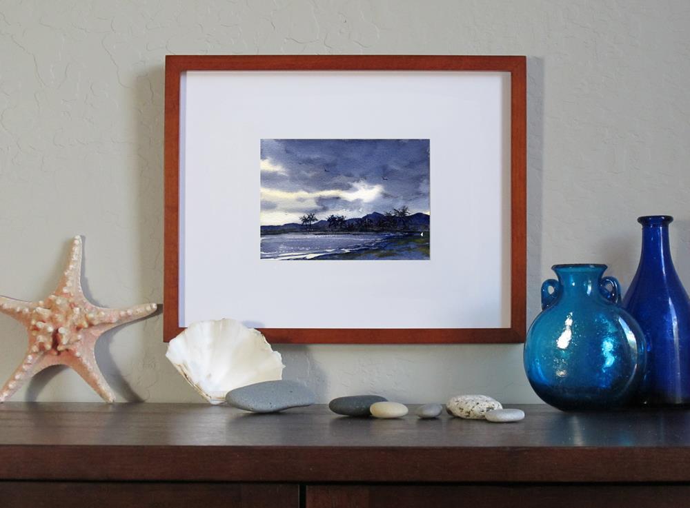 """Hawaiian Nights"" original fine art by Linda Henry"