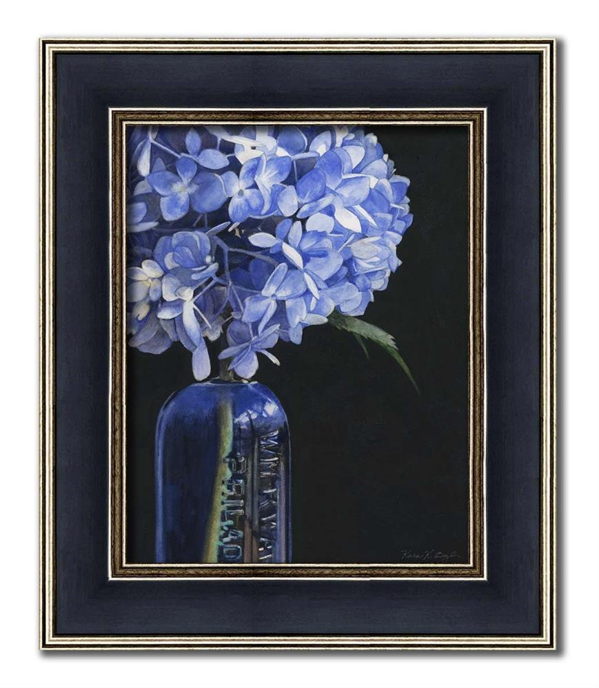 """Feeling Blue"" original fine art by Kara K. Bigda"