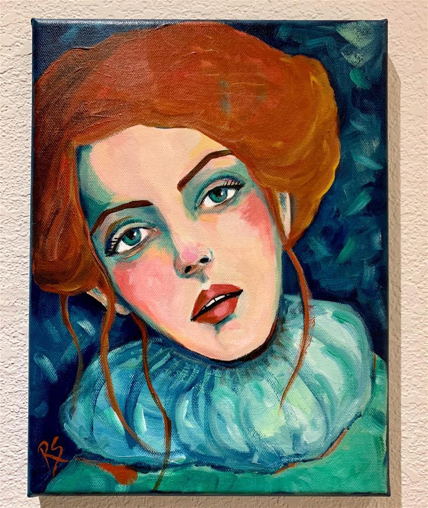 """""""In Your Eyes"""" original fine art by Roberta Schmidt ArtcyLucy"""