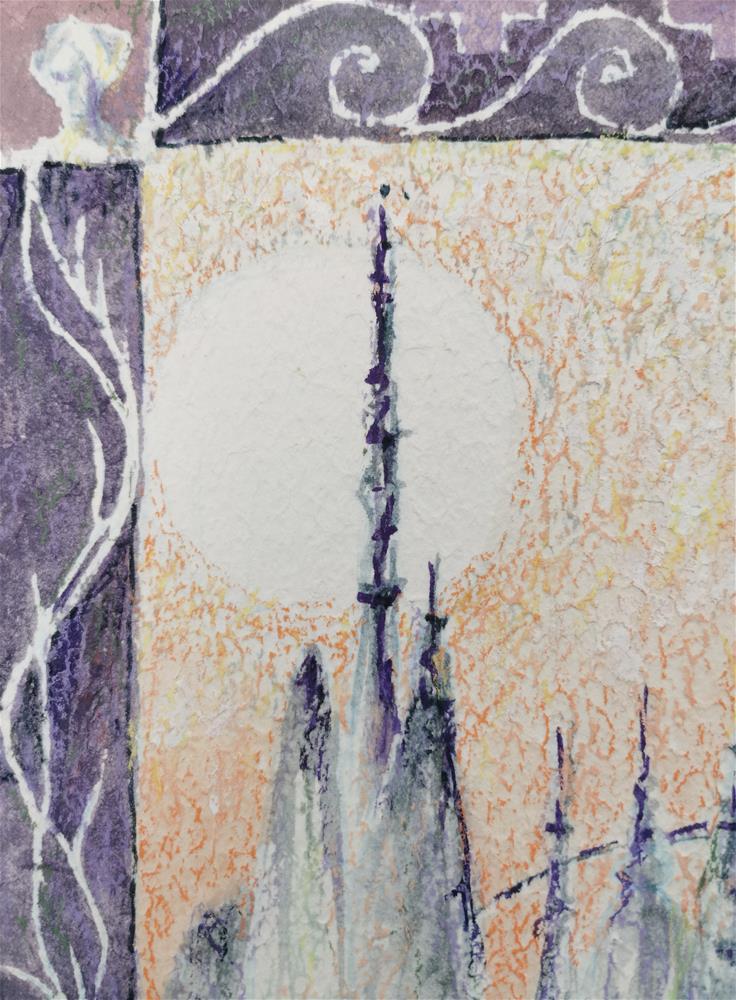 """""""Worldshine"""" original fine art by Alexandra Cook"""