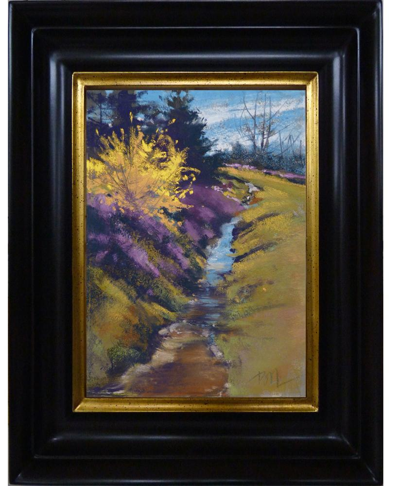 """Spring Forward"" original fine art by Barbara Benedetti Newton"