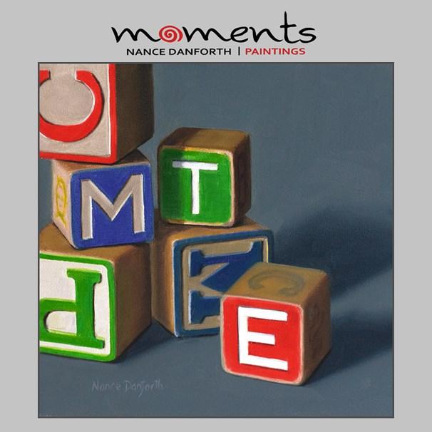"""Alphabet Blocks"" original fine art by Nance Danforth"
