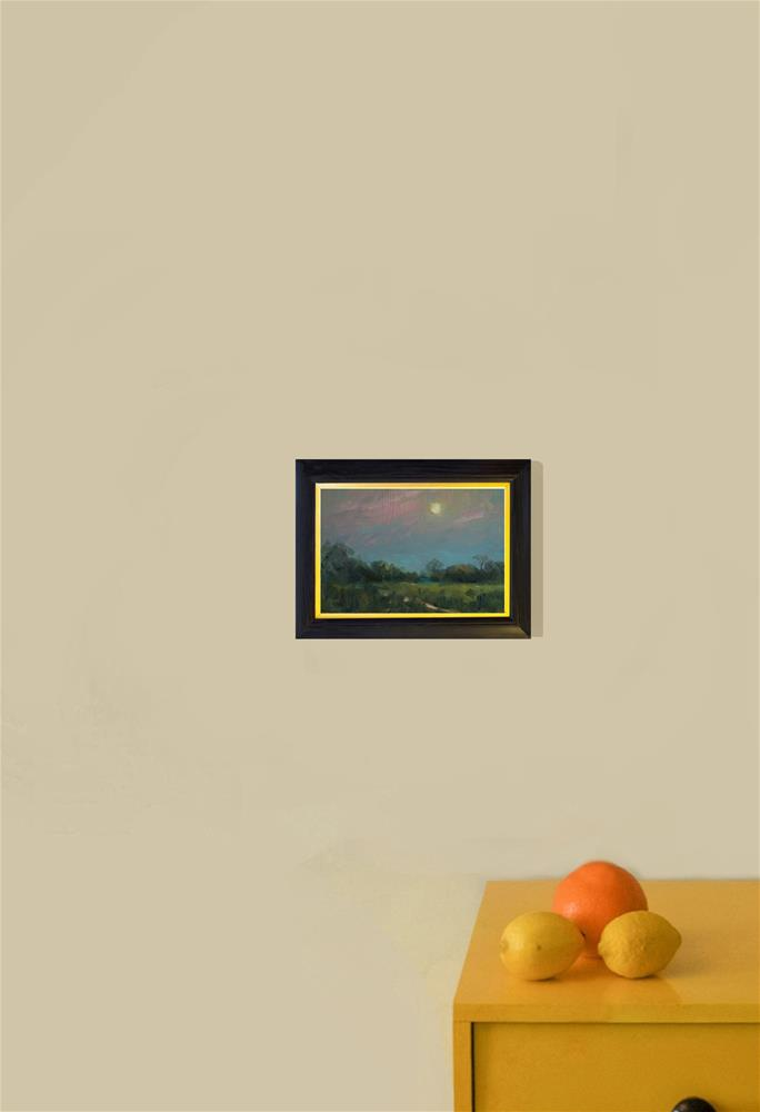 """Watery Sun"" original fine art by Andre Pallat"