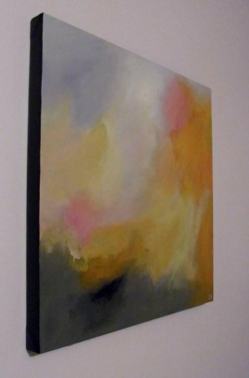 """The Day Was Yellow"" original fine art by ~ces~ Christine E. S. Code"