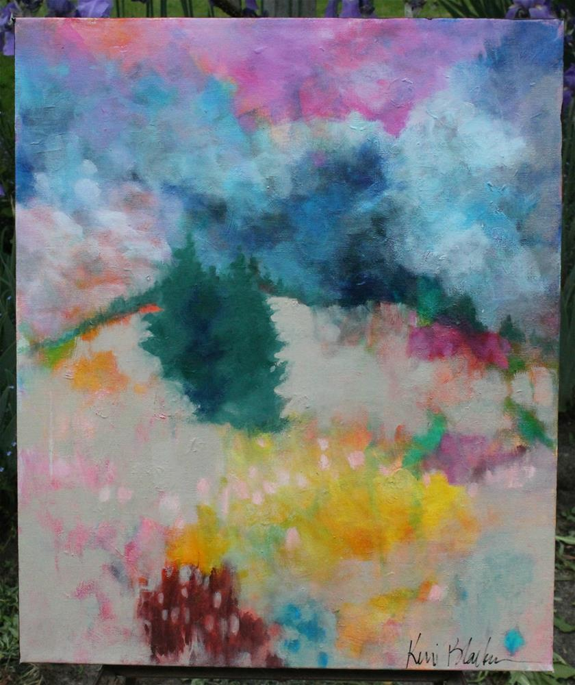 """The Hills are Calling"" original fine art by Kerri Blackman"