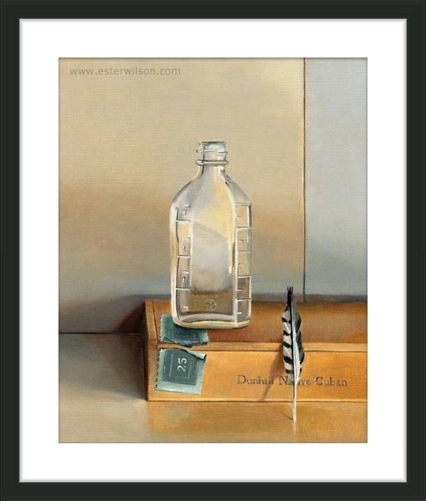 """""""Dunhill Native Cuban"""" original fine art by Ester Wilson"""