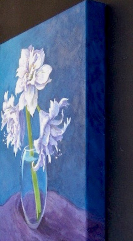 """Snow Queen"" original fine art by Patricia Musgrave"