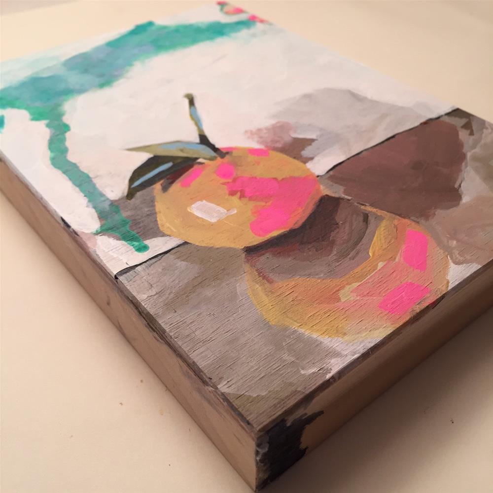 """230 Grapefruit"" original fine art by Jenny Doh"