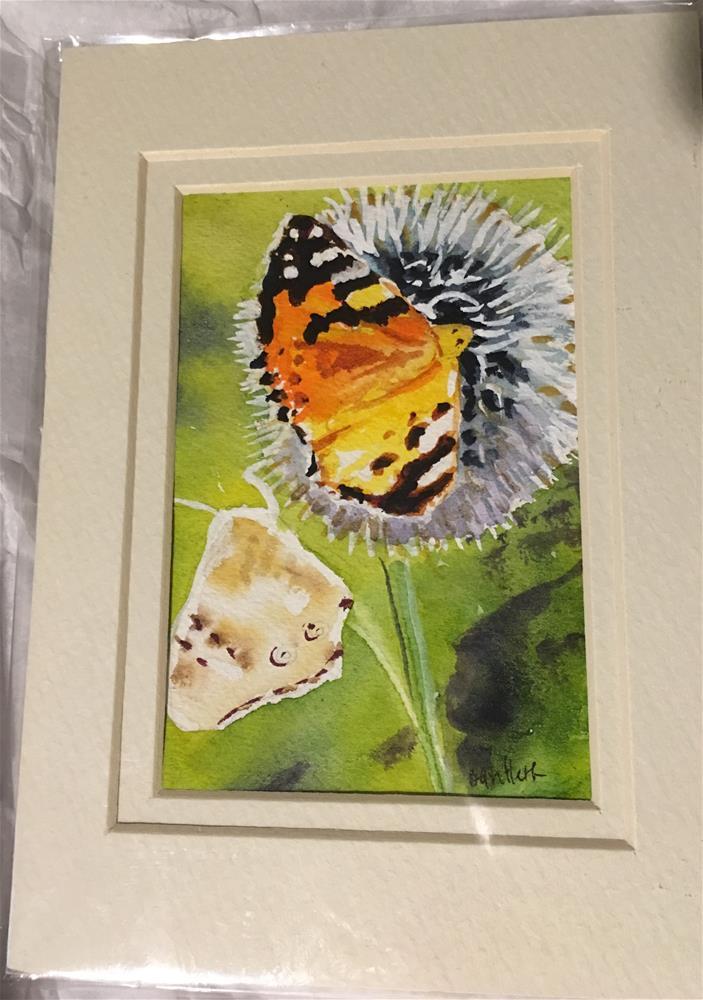 """Butterflies "" original fine art by Bunny Griffeth"
