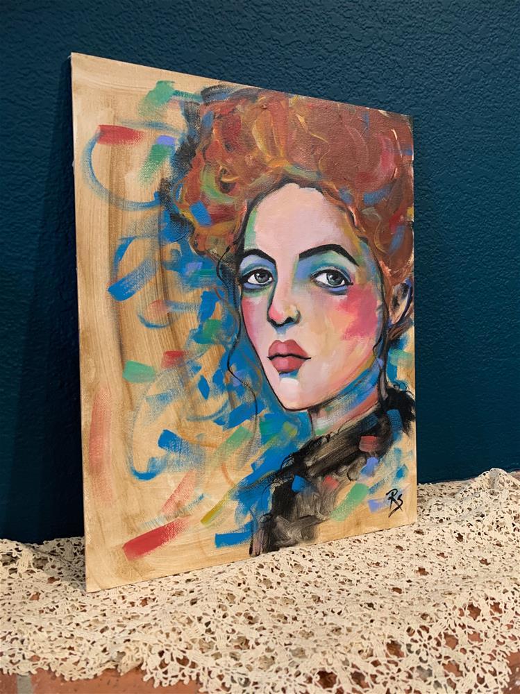 """""""Worth Remembering"""" original fine art by Roberta Schmidt ArtcyLucy"""