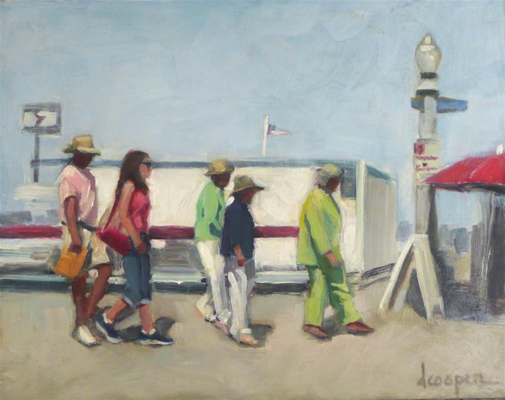 """Ferry Exit"" original fine art by Dana Cooper"
