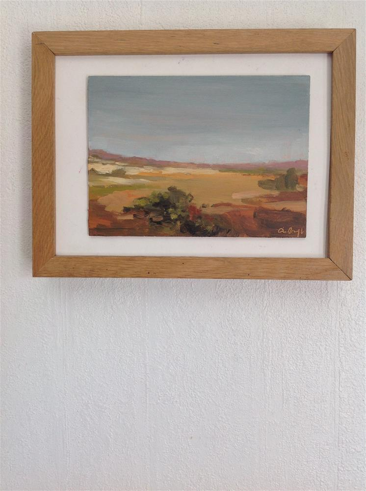 """""""From somewhere in spain"""" original fine art by Christine Bayle"""