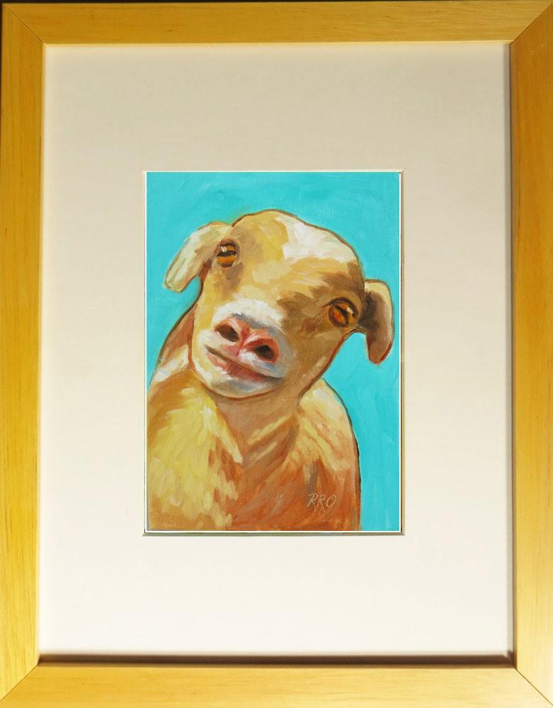 """Who Me?"" original fine art by Rhett Regina Owings"