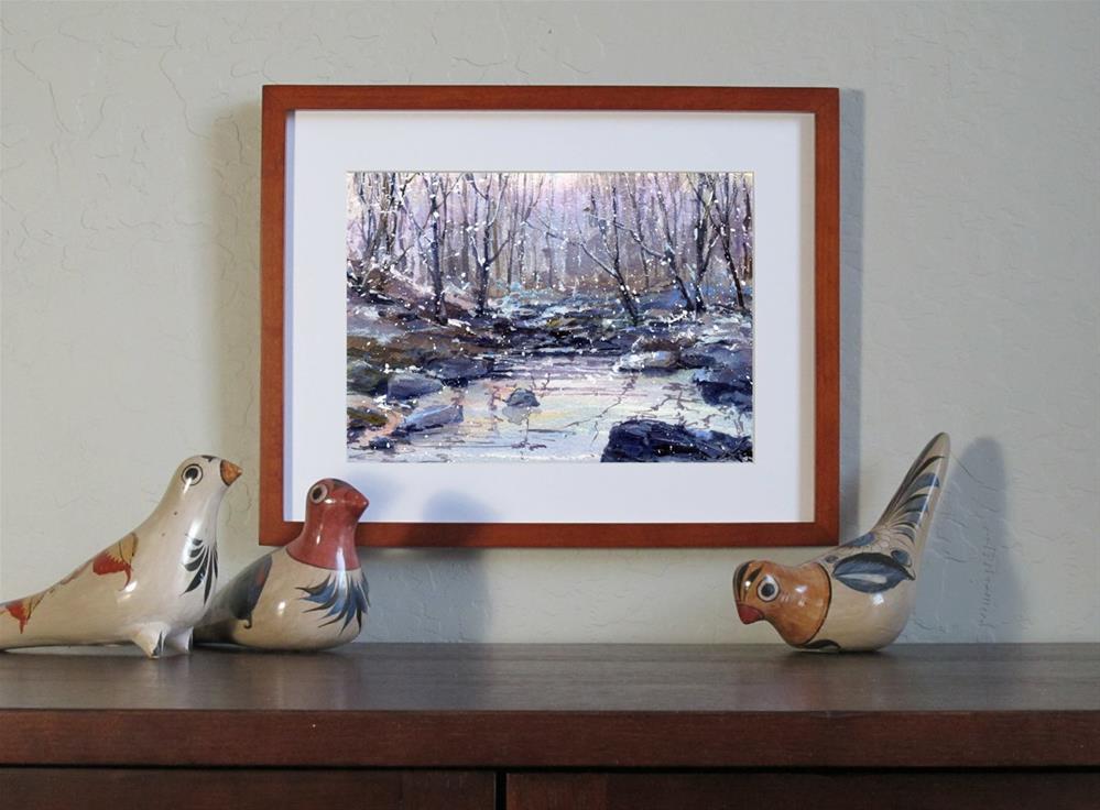 """Sugar Plum Fairies"" original fine art by Linda Henry"