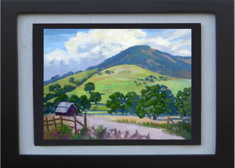 """Country Living"" original fine art by Rhett Regina Owings"