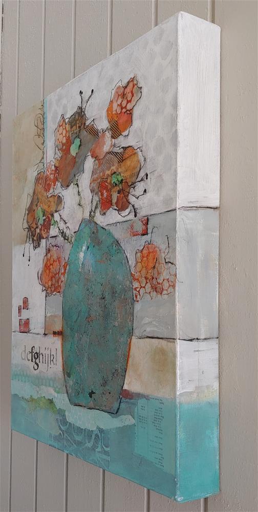 """Floral Number 1116 "" original fine art by Cindy Haase"