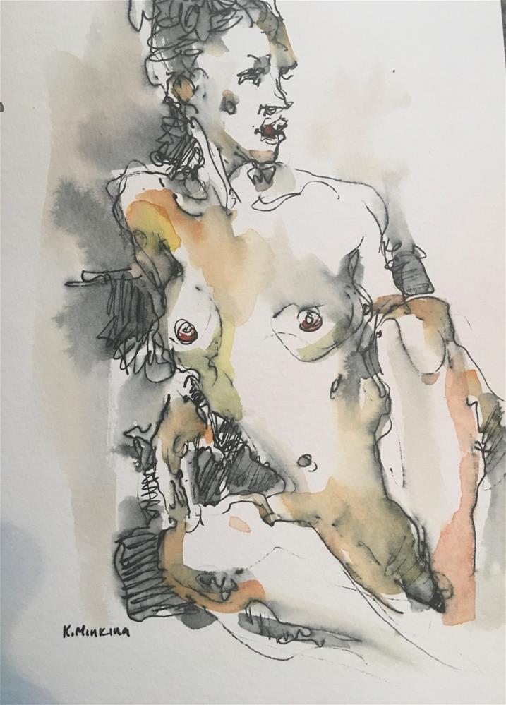 """Figuary44"" original fine art by Katya Minkina"