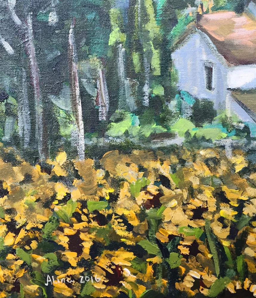 """""""Provence Corner"""" original fine art by Alina Vidulescu"""