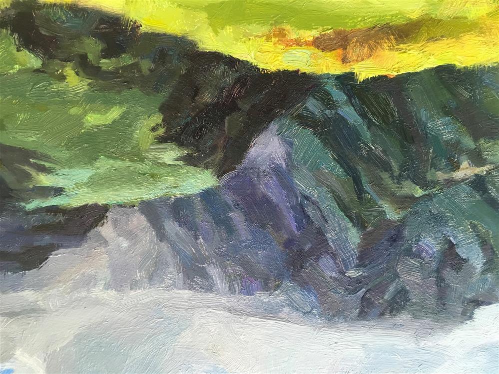 """Kaupo, East Maui"" original fine art by Katya Minkina"