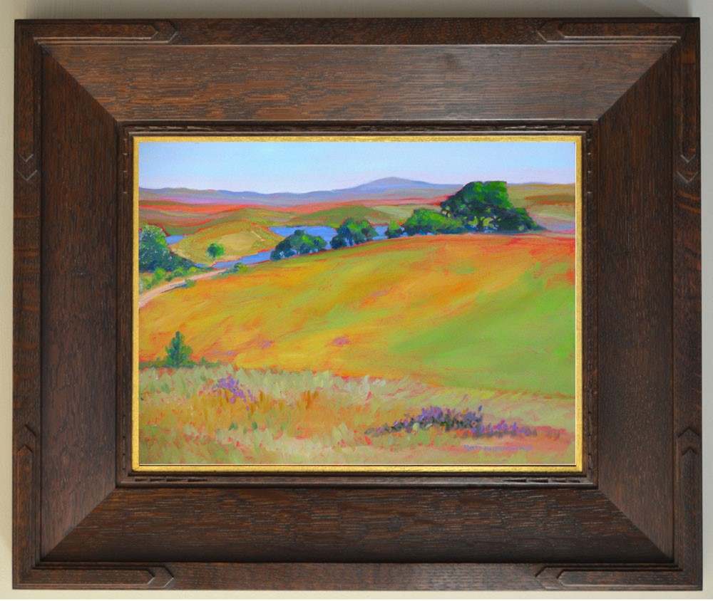 """Pat's View"" original fine art by Rhett Regina Owings"