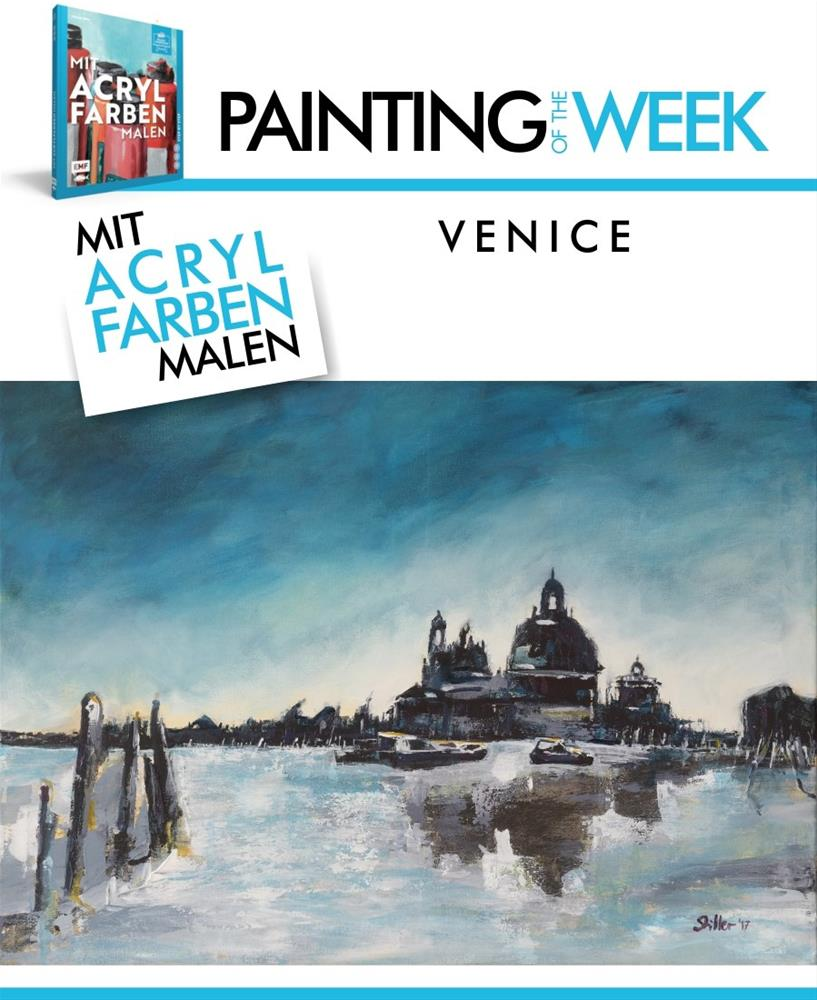 """2251 Venice (Painting of the Week #17)"" original fine art by Dietmar Stiller"
