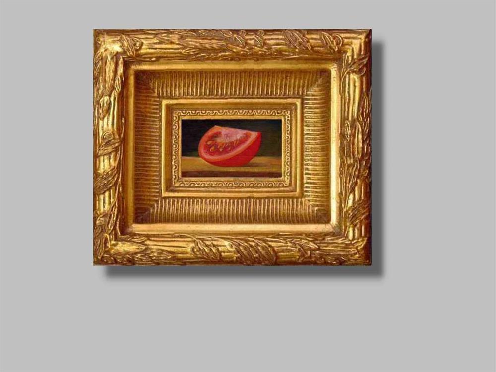 """""""tomato #2"""" original fine art by Mark DeBak"""