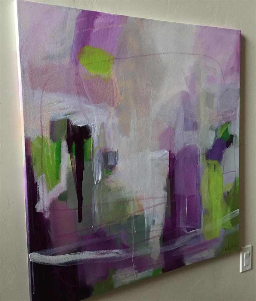 """I Brought You an Orchid"" original fine art by Pamela Munger"