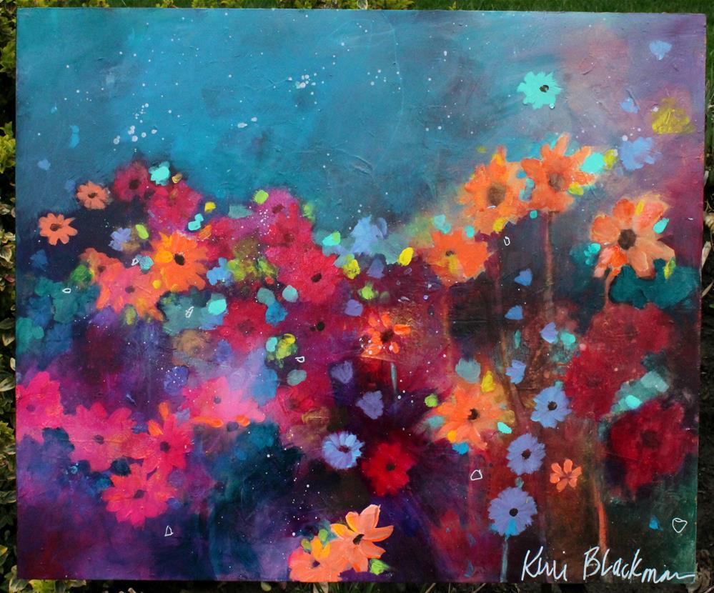 """Garden Party"" original fine art by Kerri Blackman"