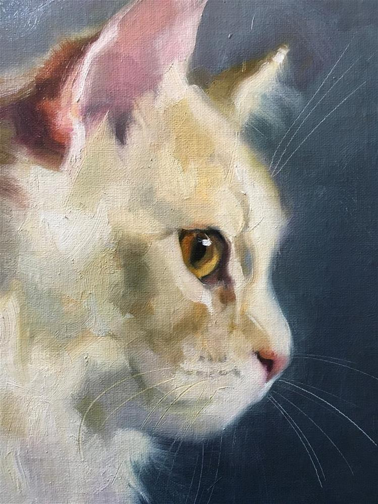 """Adopt376"" original fine art by Katya Minkina"