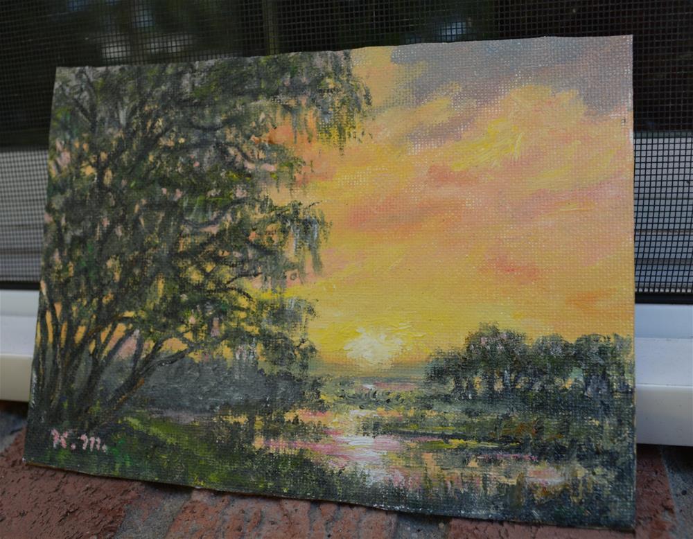 """""""Lowcountry Scene"""" original fine art by Kathleen McDermott"""