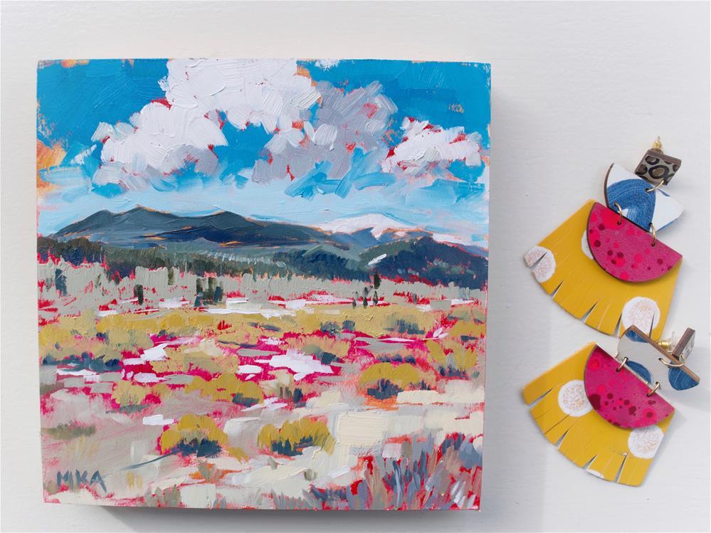 """""""Colorado in the Spring"""" original fine art by Megan Aadland"""