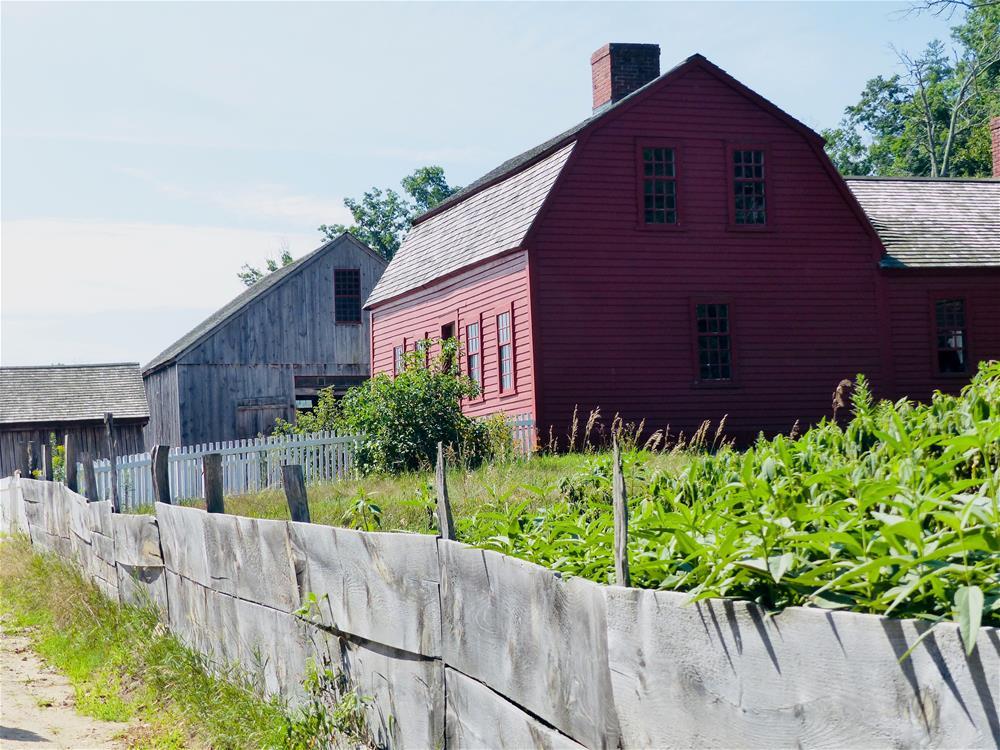 """Freeman Farm in the Afternoon"" original fine art by Judith Freeman Clark"