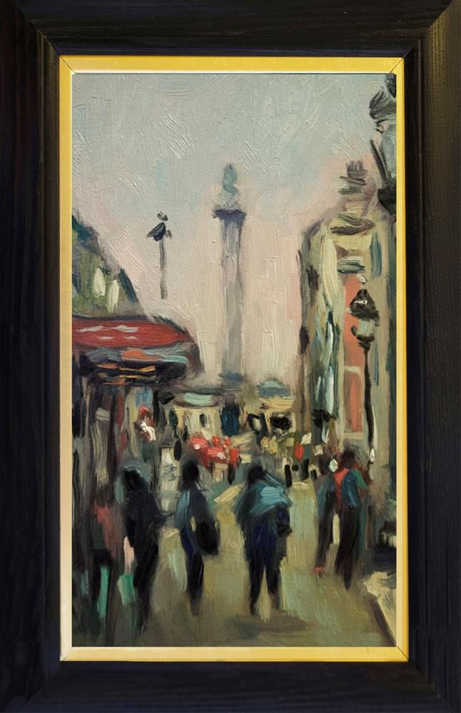 """Whitehall, London."" original fine art by Andre Pallat"