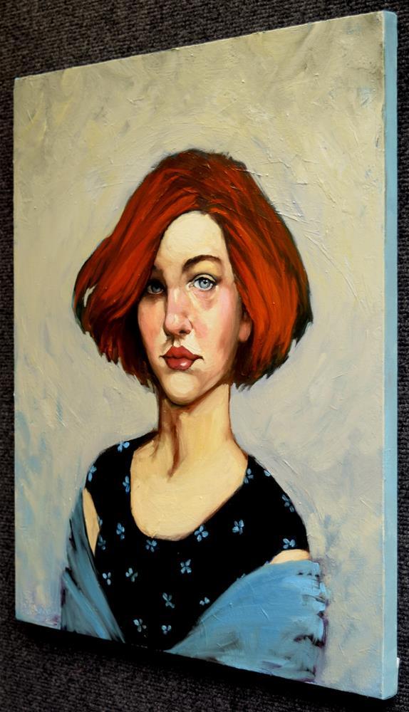 """Tuulikki"" original fine art by Kayleen Horsma"